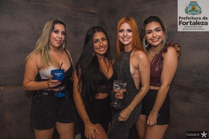Amanda Rodrigues, Marilia Vidal, Alice Sampaio e Marina Julia