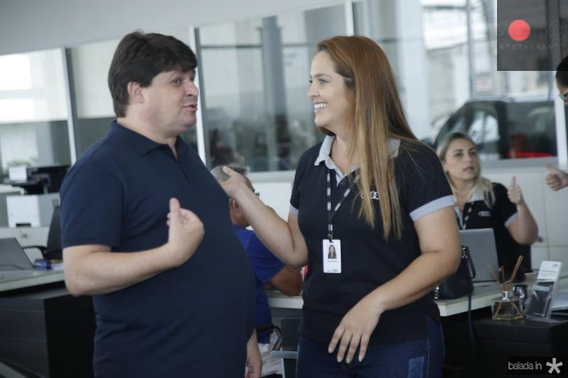 George Lima e Patricia Brandao