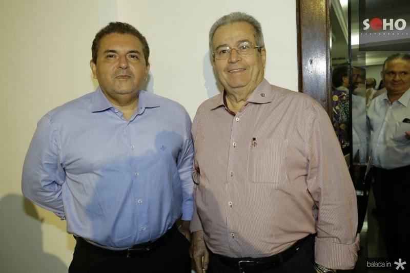 Anderson Cisne e Meton Vasconcelos