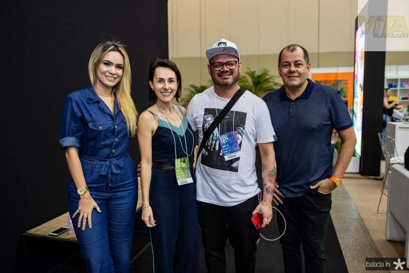 Isabele Santos, Airan Pagliose, Romualdo Cassiano e Gilvan Magno