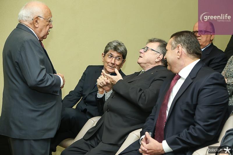 Ubiratan Aguiar, Augusto Bezerra, Helio Leitao e Domingos Filho