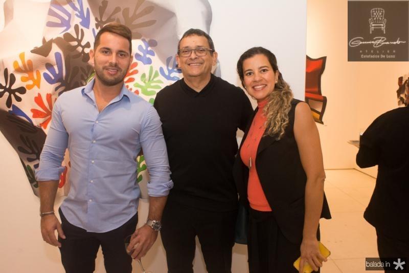 Veri Bessa, Jose Guedes e Rita Braga
