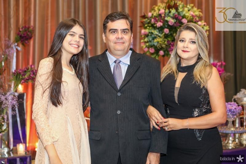 Giane, Saris e Geovania Machado