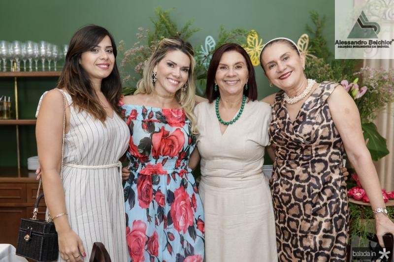 Mariana Frota, Pauliane Campos, Roseane Campos e Alta Rosane