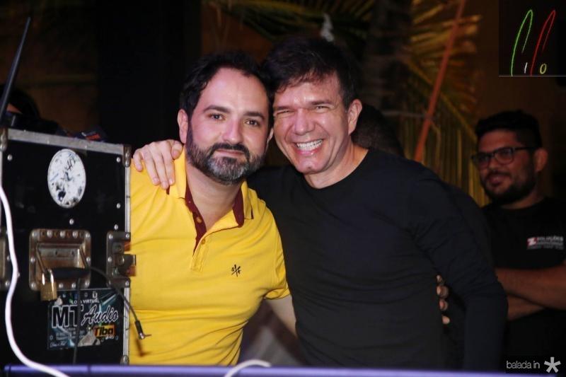 Pedro Neto e Waldonys