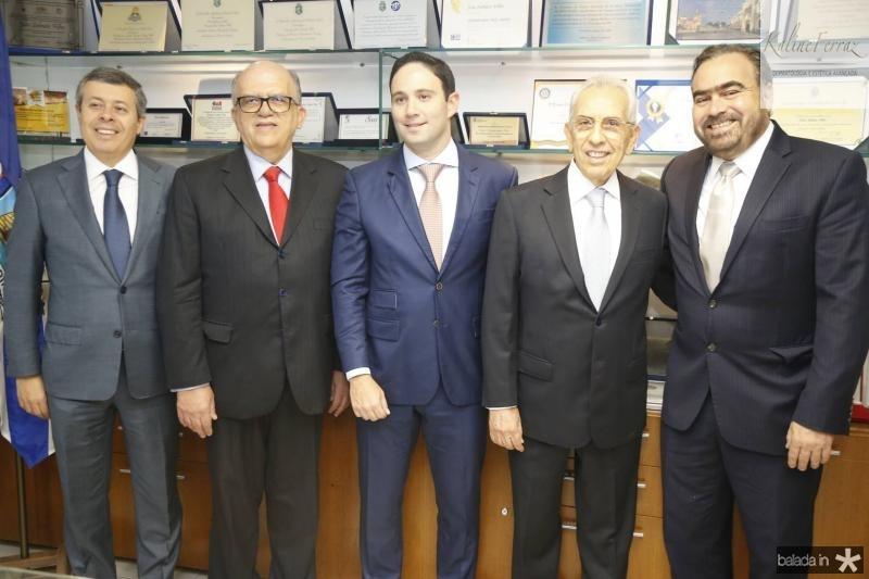 Anastacio Marinho, Fernando Ximenes, Thiago Asfor, Paulo Ponte e Helio Parente