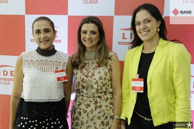 Ines Claudia, Emilia Buarque e Paula Leal