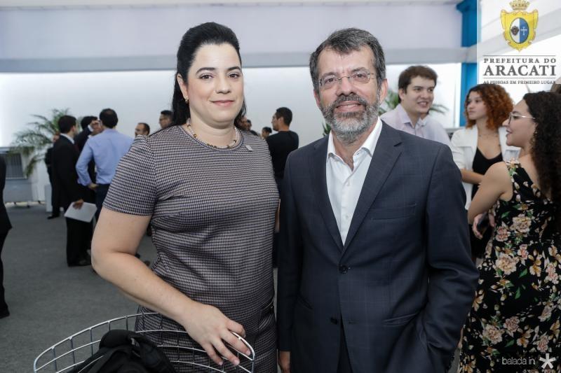 Regina Sa e Nelson Simoes