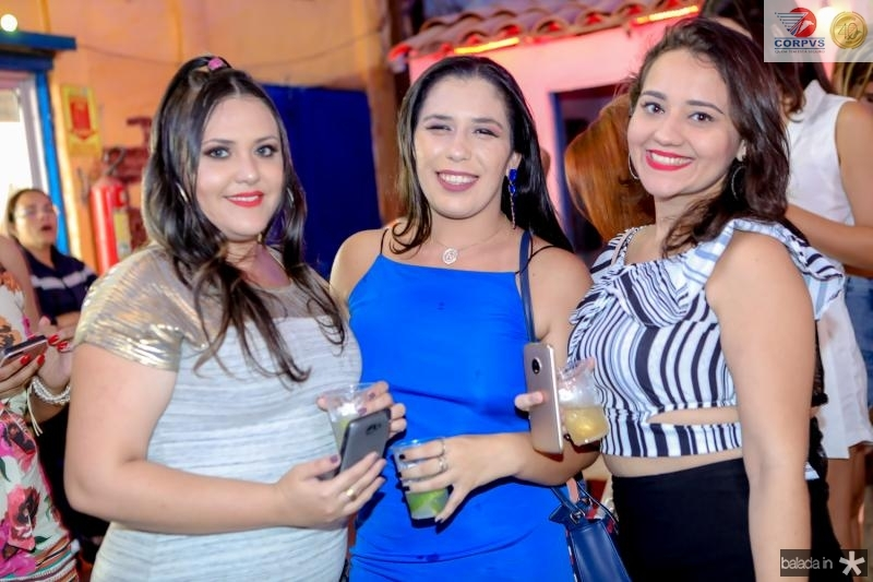 Nadia Menezes, Natali Vieira e Cassia Baldessar