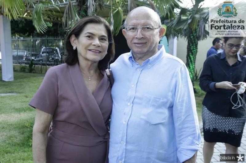 Maria das Gracas e Roberto Claudio Bezerra