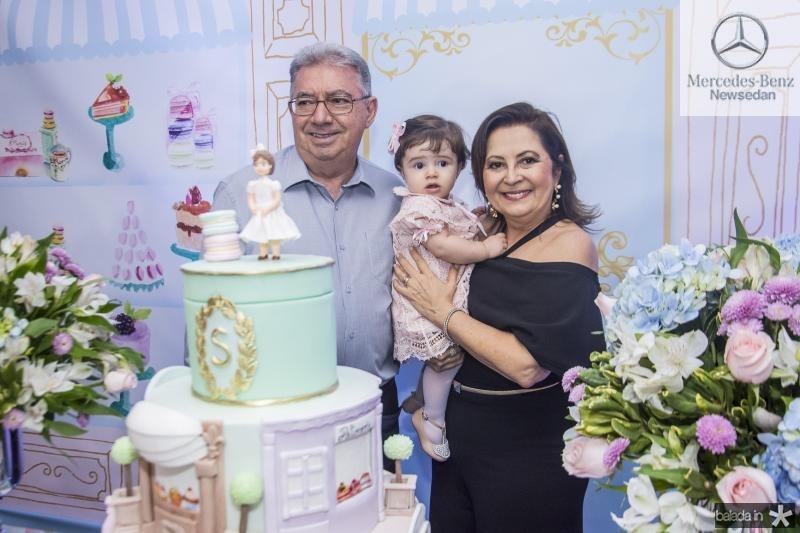 Raley Campos, Sara Sa e Socorro Campos