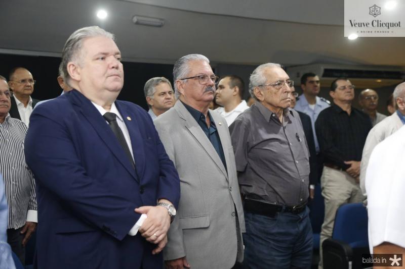 Pedro Jorge, Victor Frota e Jose Rego