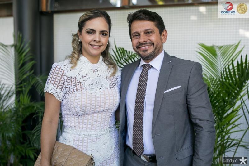 Juliana Brito e Helio Leitao