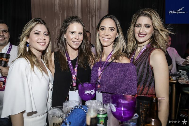 Bia Rolim, Natalia Pontes, Livia Vieira e Rebeca Leal
