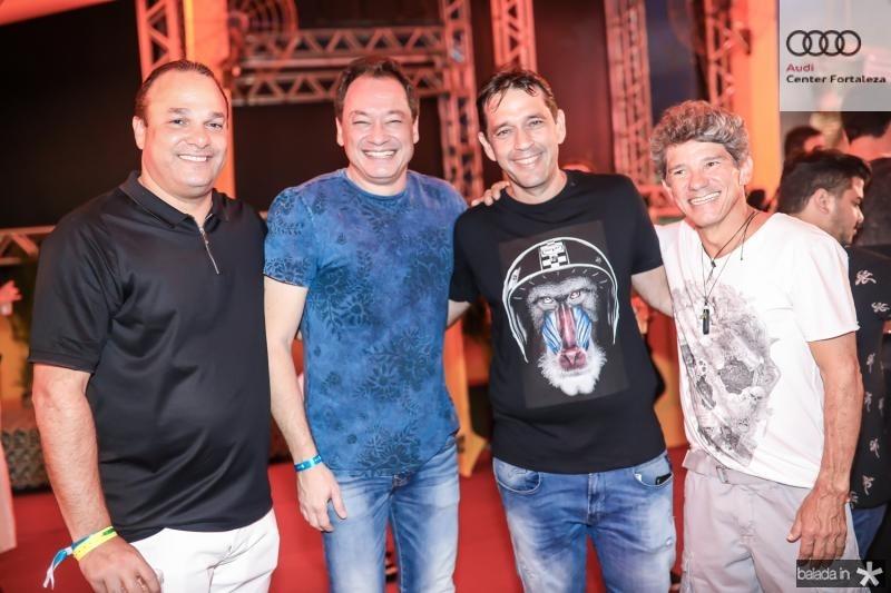 Enio Cabral, Pedro Coelho Neto, Andre Camurça e Carvalho Junior