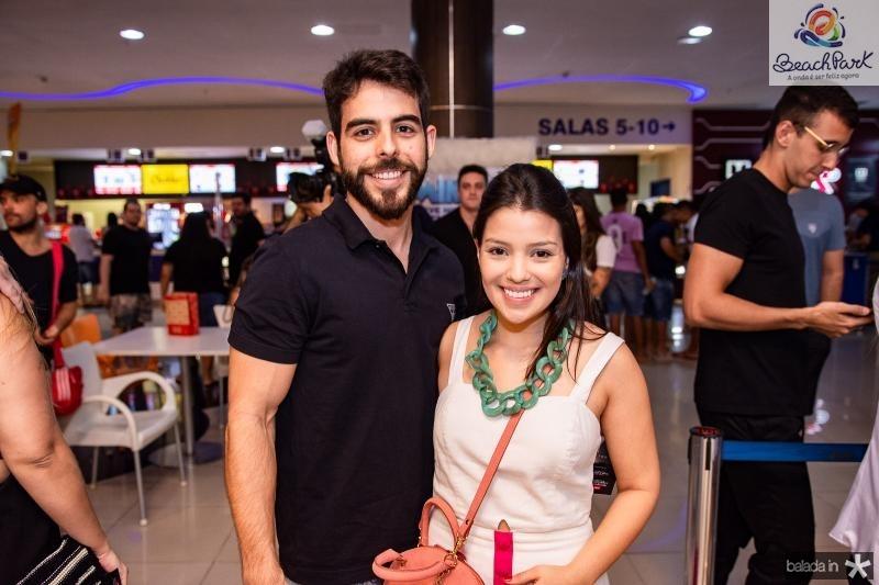 Pedro Rocha e Mariana Porto