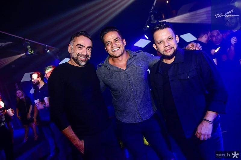 Padua Costa, Netinho, Roberto Alves