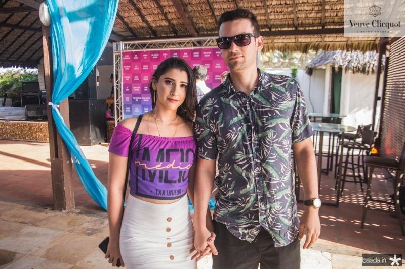 Tatiane Vieira e Joel Azevedo
