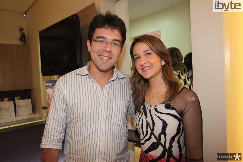 Hermano Gurgel e Aline Gomes