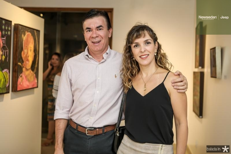 Lorival e Ivana Teixeira