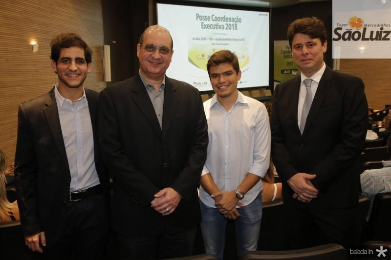 Victor e Walder Ary, Felipe Nogueira e Ricardo Ary
