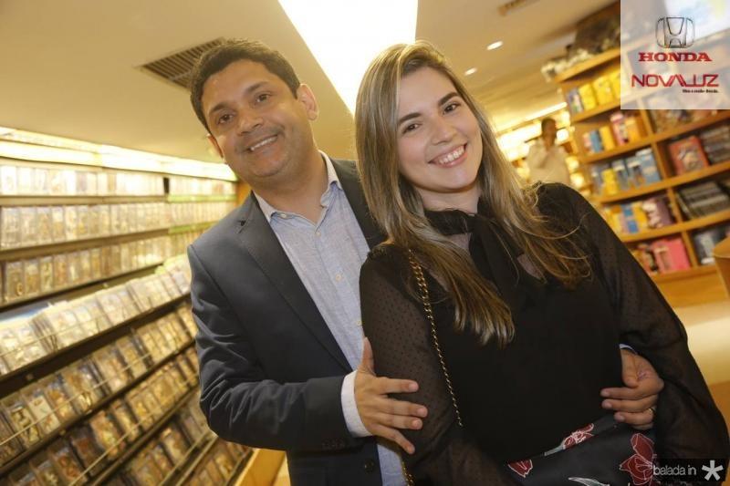 Bruno Queiroz e Juliana Bastos