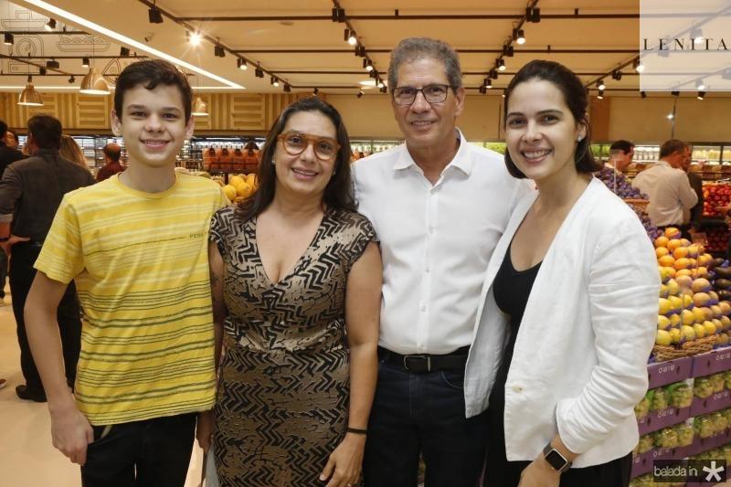 Victor, Isabella, Severino Neto e Joana Ramalho