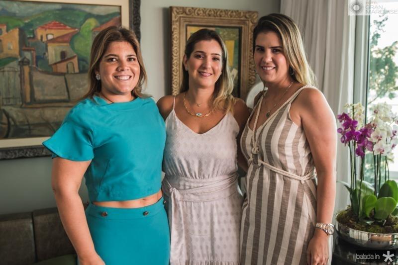 Gisela Vieira, Andréa Vieira e Bia Pontes