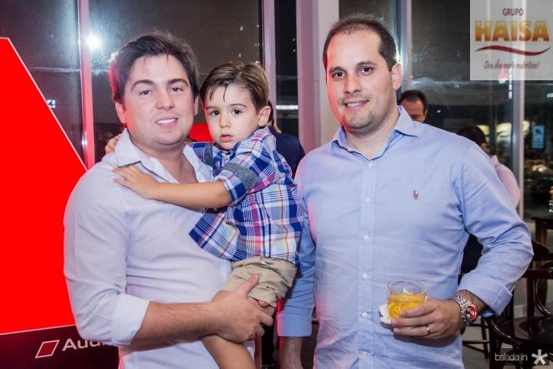 Thiago Lavo, Thiaguinho Lavor e Emarde Junior
