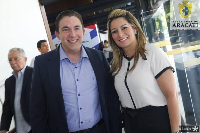 Rodrigo Pereira e Tatiana Luna