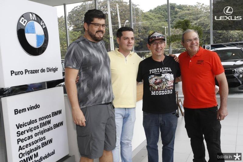 Afonso Torres, Saulo Parente, Gerardio Aguiar e Girao neto