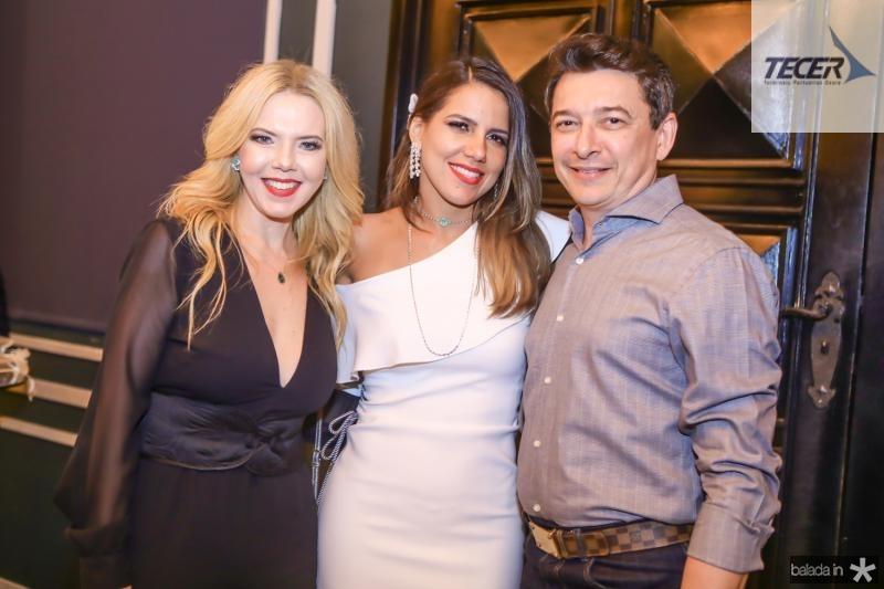 Branca Mourao, Ana Carolina Fontenele e Racine Mourao