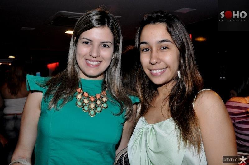 Kercia Cardoso e Giovana Barros