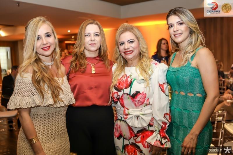 Monica Albuquerque, Ines Cavalcante, Solange Maia e Juliana Magalhaes