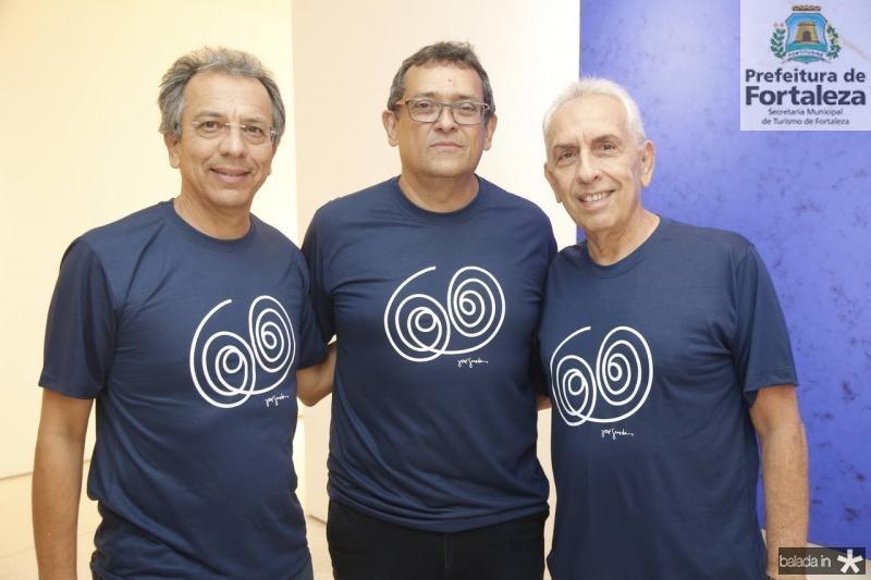 Eduardo Rolim, Jose Guedes e Paulo Ponte