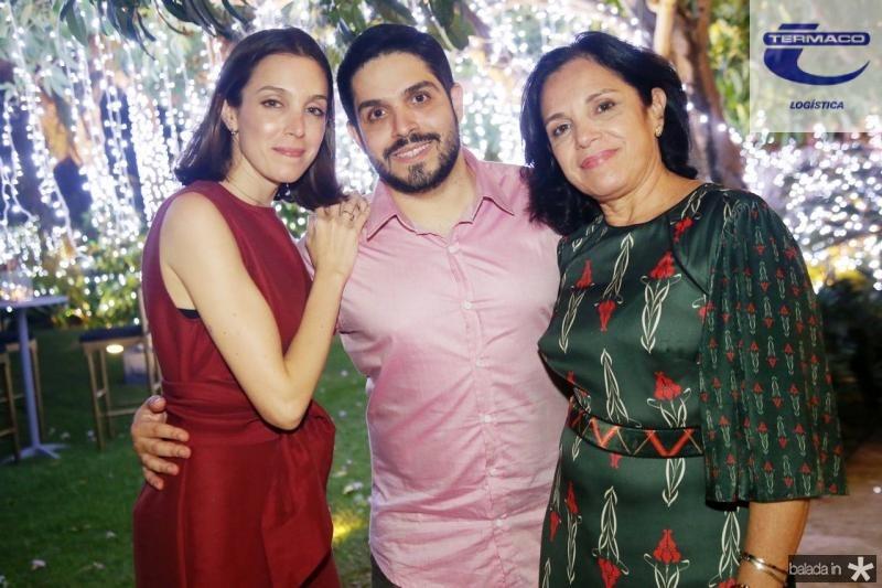 Joanna, Fernando Victor e Elusa Laprovitera