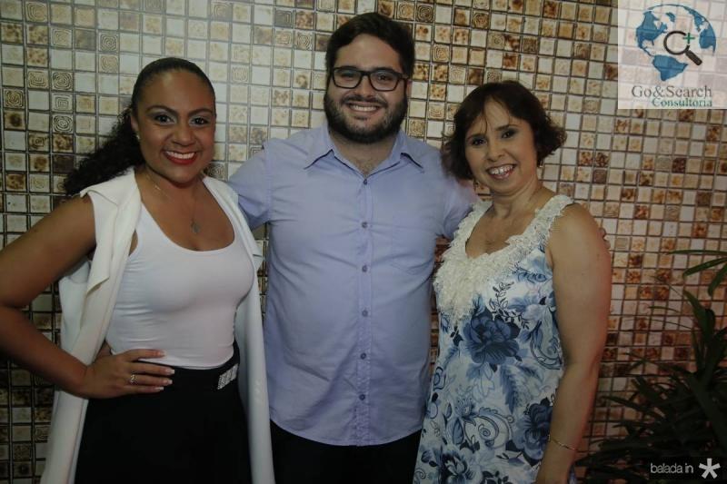 Samea Maia, Pedro Bezerra e Deborah Roncali