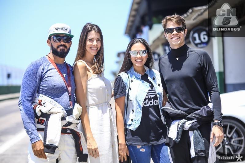 Ricardo e Roberta Carvalho, Keive Nogueira e Francisco Alcantara