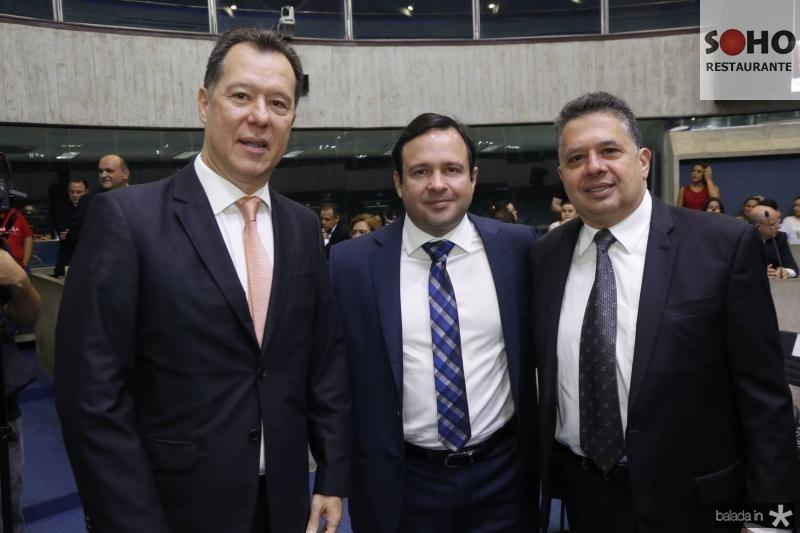 Carlos Fujita, Igor Queiroz e Gerardo Bastos