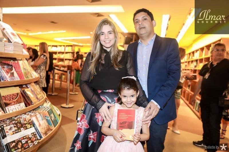 Juliana Bastos, Maria Beatriz e Bruno Queiroz