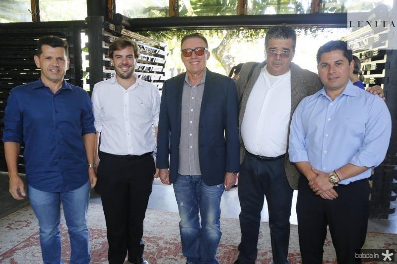 Erick Vasconcelos, Claudio Nelson Darlan Leite, Osterne Feitosa e Pompeu Vasconcelos