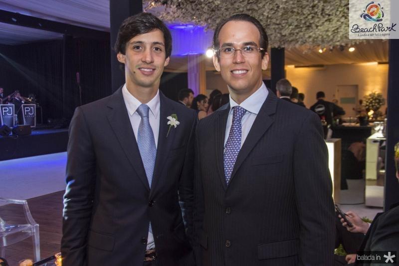 Rodrigo Oliveira e Igor Lucena