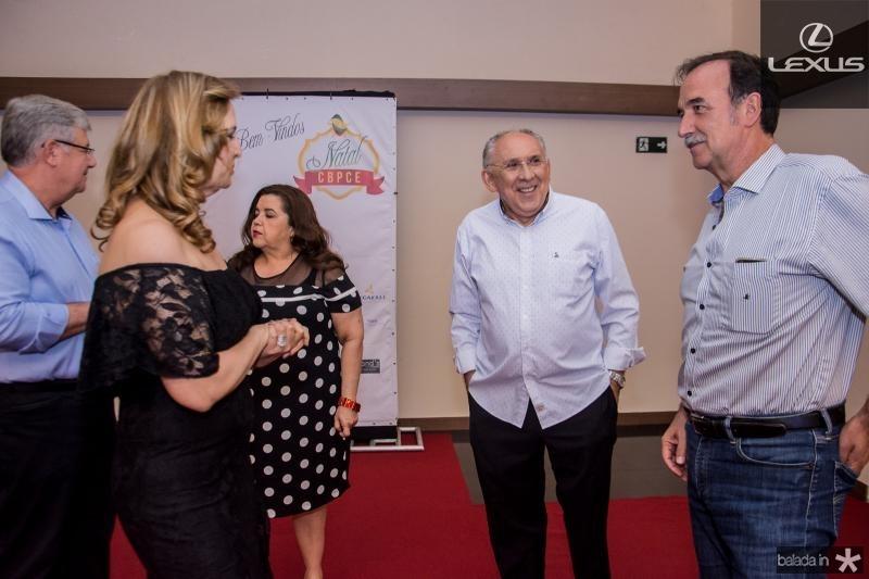 Enid Camara, Luis Carlos Correa e Armando Abreu