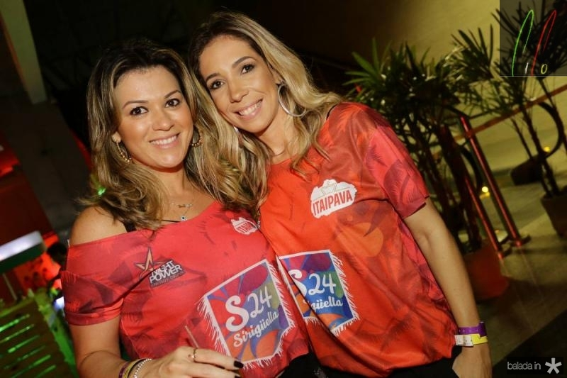 Juliana Albuquerque e Polyana Simas