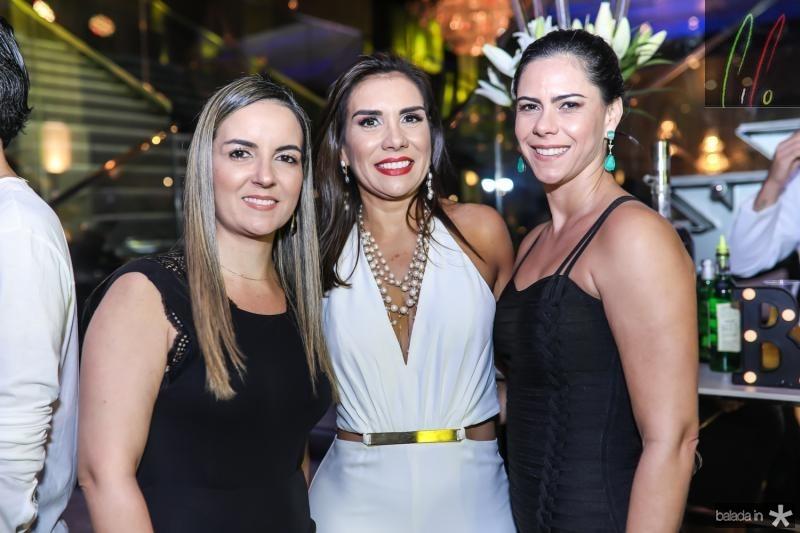 Raquel Vasconcelos, Anne Alcantara e Carol do Ceara
