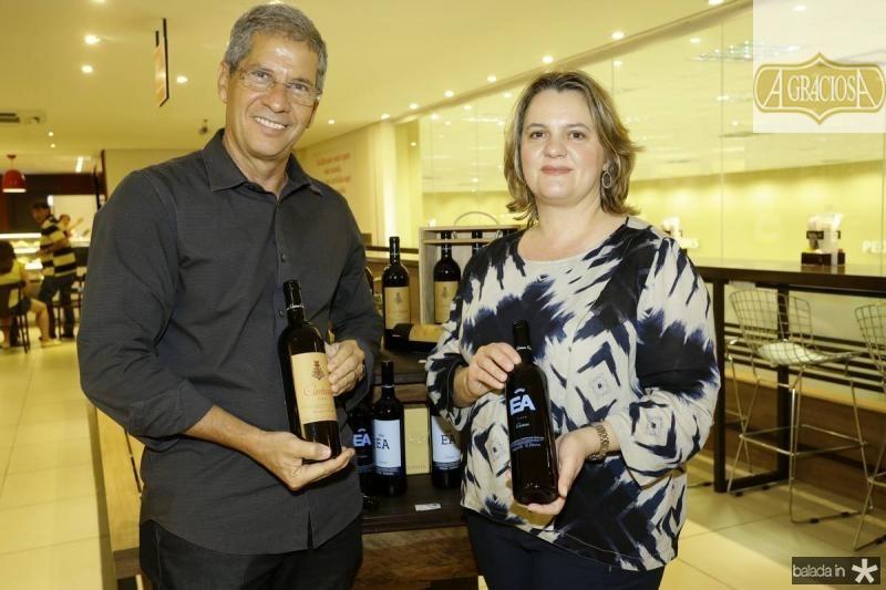Severino Neto e Gabriela Fialho