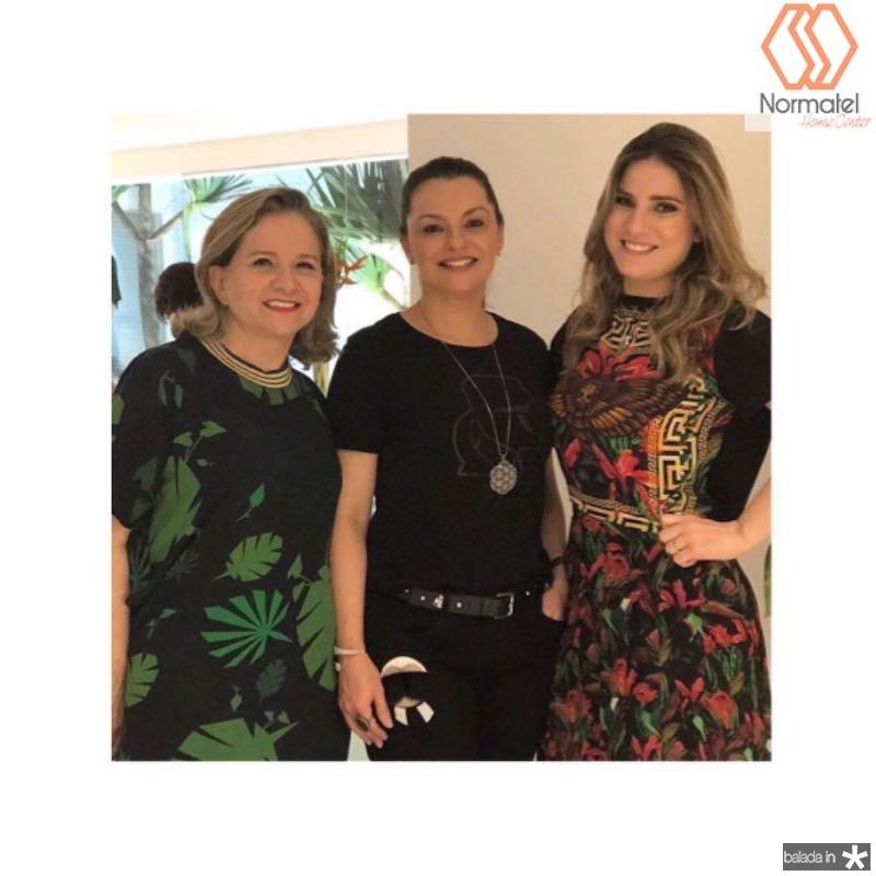 Natercia Jereissati, Lucia Praciano e Maria Clara Dallolio