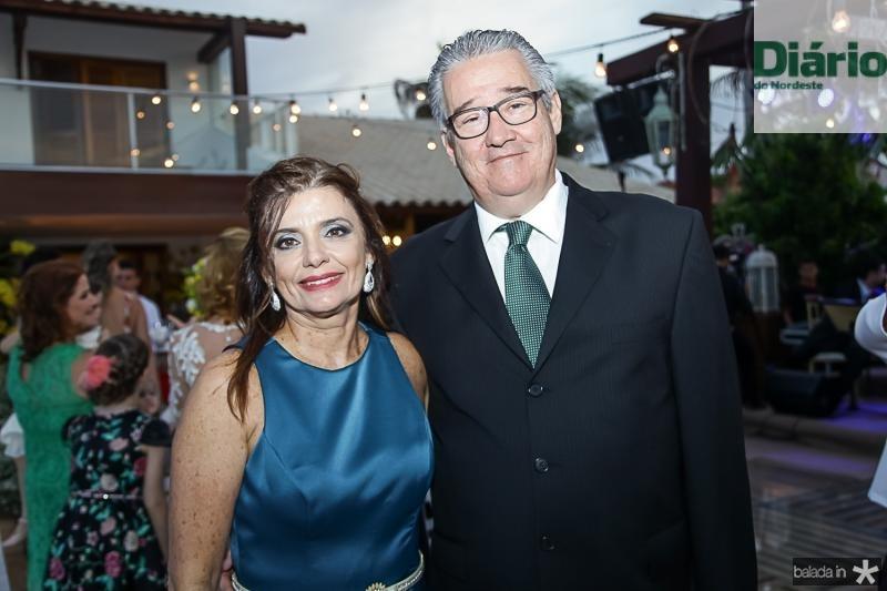Denise Arruda e Gilson Gondim