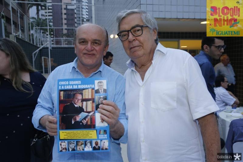 Chico Soares e Roberto Farias