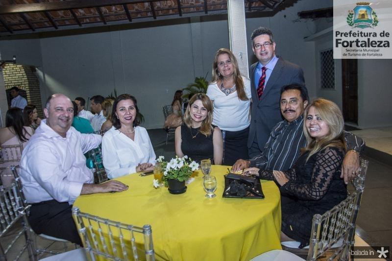 Eugenio Marques, Conceicao Marques, Renata Amaral, Yara Salema, Leonardo Salema, Leandro Batista e Veronica Amaral